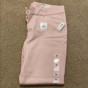 Brand new pink pixie ankle length pants